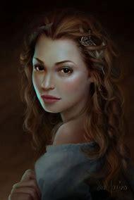 Beautiful Women Digital Art Portraits