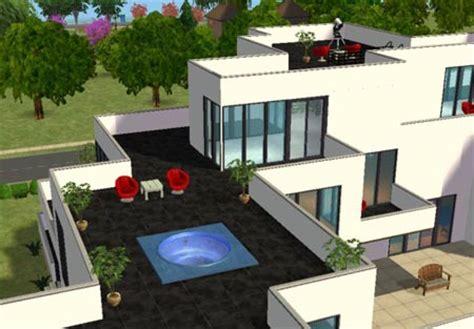 d 233 tails ext 233 rieur maison moderne de beverly hill sims 2 id 233 e de maison