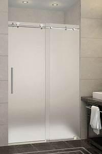 Aqualine Iii  Brushed Satin   Shower Door Roller