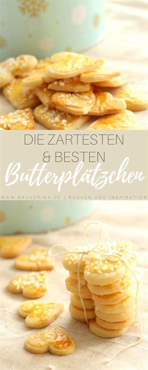 zarte butterplaetzchen rezept plaetzchen