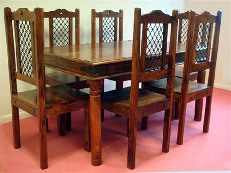 rustic dining room tables and chairs marceladick