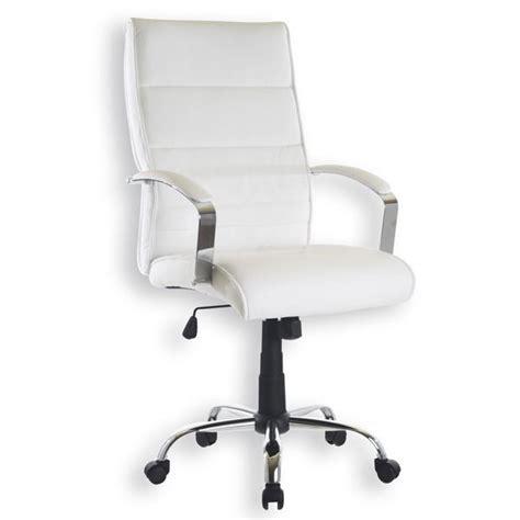 fauteuil bureau blanc chaise roulante de bureau le monde de léa