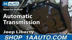 How To Change Transmission Fluid 02-07 Jeep Liberty