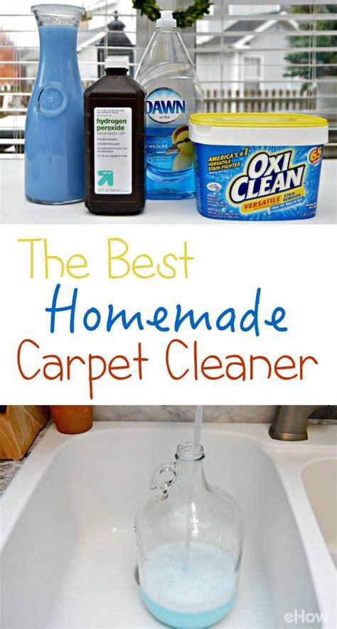 homemade carpet cleaner recipes diy carpet