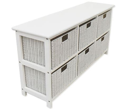 White Storage Cabinets With Drawers by Pine Wood Storage Cabinet With 6 Even Storage Box Drawers
