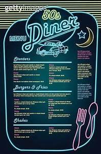 50s Diner Menu Templates Free Download