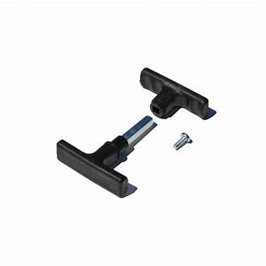 Poignee pour porte de garage basculante non isolee for Porte de garage basculante pour modele de porte exterieur en pvc