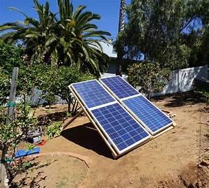 Diy Ground Mounted Solar Array