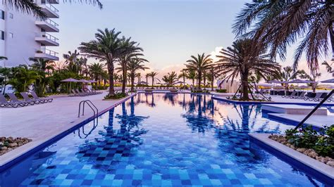 conrad cartagena  hilton luxury caribbean hotel  colombia