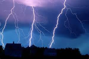Lightning Night Skies