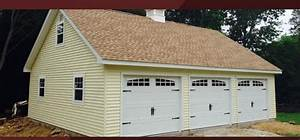 Built on site custom amish garages in oneonta ny amish for Companies that build garages