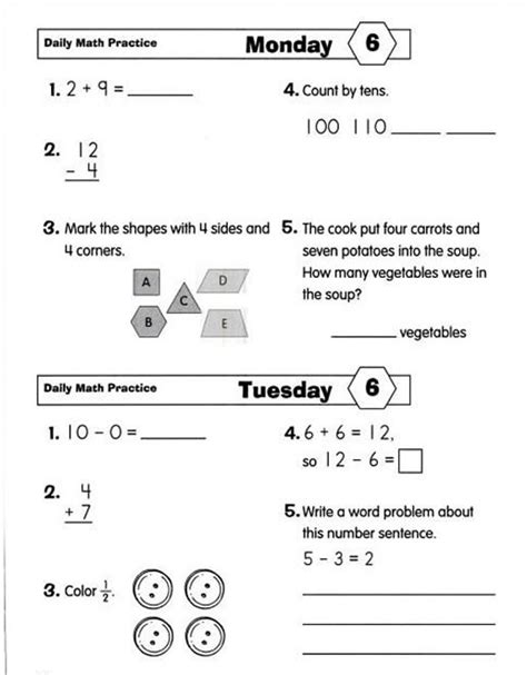 Maths Practice For Grade 4  Daily Math Practice Common Core Edition Grade 4 Emc753 2maths For