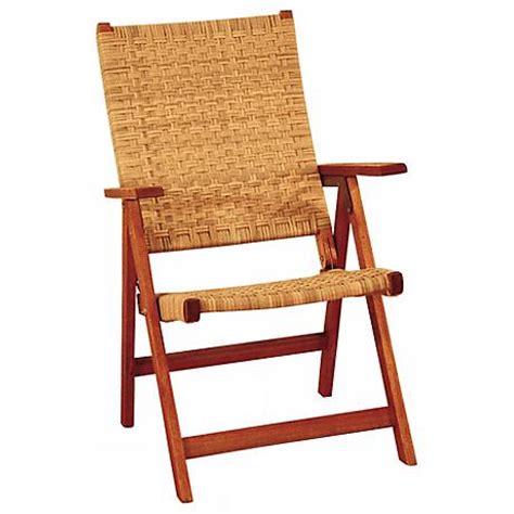eucalyptus woven seat outdoor folding chair m7918