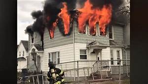 Early Video From Long Island House Fire