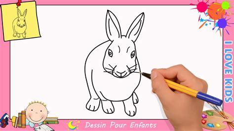 apprendre à cuisiner facilement dessin lapin facile etape par etape comment dessiner un