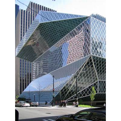 Splendid Design: Seattle Public Library
