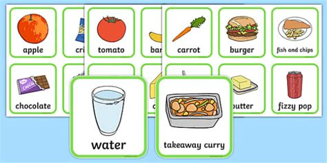 Healthy And Unhealthy Sorting Activity  Food, Sorting Card, Flashcards