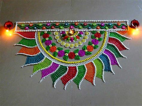 creative rangoli designs collection  diwali