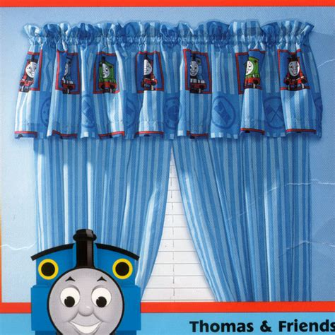 The Tank Engine Bedroom Decor by And Friends Window Valance