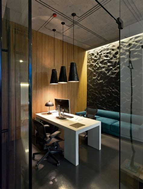 architectural office and showroom puts an artistic spin on