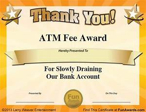17 best ideas about funny certificates on pinterest With fun award templates