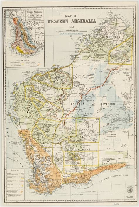 maps   state library  nsw map  western