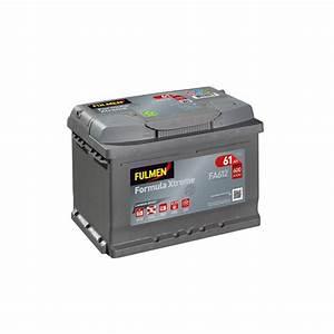 Batterie Voiture Prix : batterie voiture fulmen fa612 12v 60ah 600a ~ Medecine-chirurgie-esthetiques.com Avis de Voitures