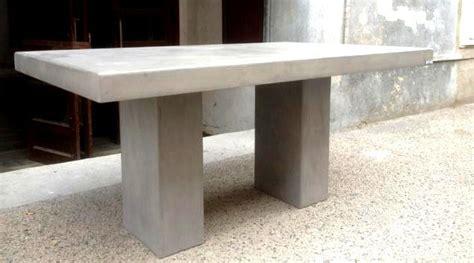 table jardin resine imitation beton jsscene des id 233 es int 233 ressantes pour la conception
