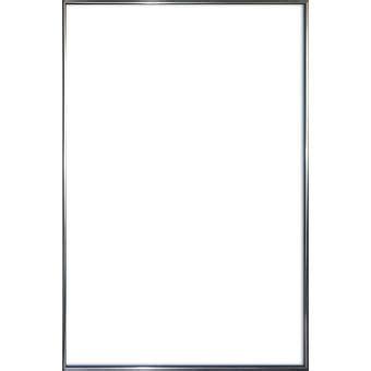 cadre pour poster en plastique effet metal antracite