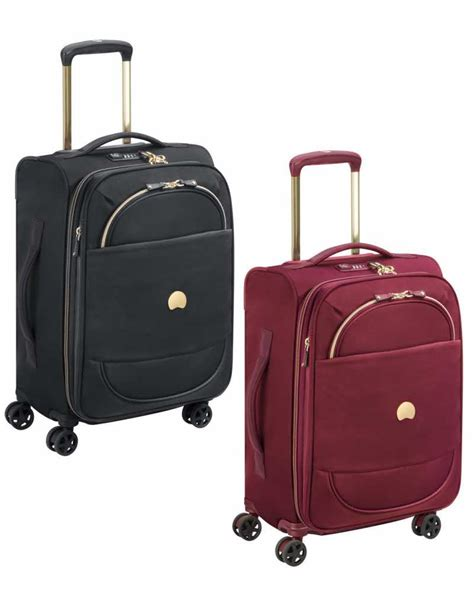 Delsey Cabin Trolley Delsey Montrouge 55cm 4 Wheel Expandable Cabin Trolley