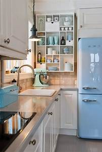 25 best ideas about modern retro kitchen on pinterest With kitchen colors with white cabinets with vintage flight wall art