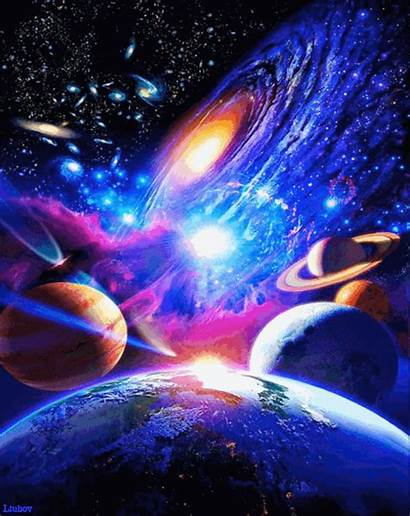 Trippy Acid Trip Lsd Drugs Planets Gifer