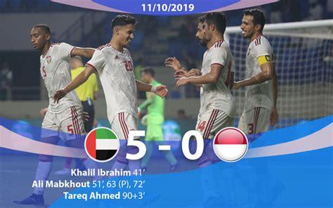 Lịch thi đấu các trận còn lại của bảng g. Kết quả, BXH vòng loại World Cup 2022, bảng G: ĐT UAE thắng đậm 5-0 ĐT Indonesia   VTV.VN