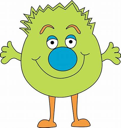 Monster Clip Clipart Funny Fuzzy Monsters Cartoon