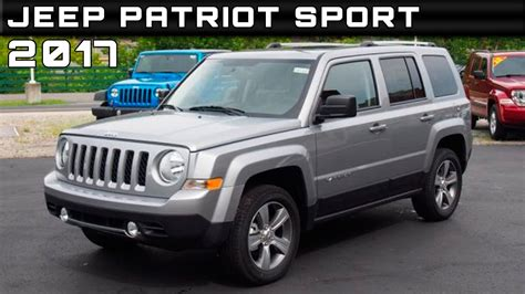 Jeep Patriot 2017 Review by 2017 Jeep Patriot Sport Review Rendered Price Specs