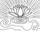 Sunrise Coloring Pages Pencil Drawing Lotus Flower Printable Designlooter Drawings 69kb 479px Getdrawings Getcolorings sketch template