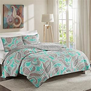 Intelligent Design Paola Reversible 2-3-Piece Quilt Set in ...