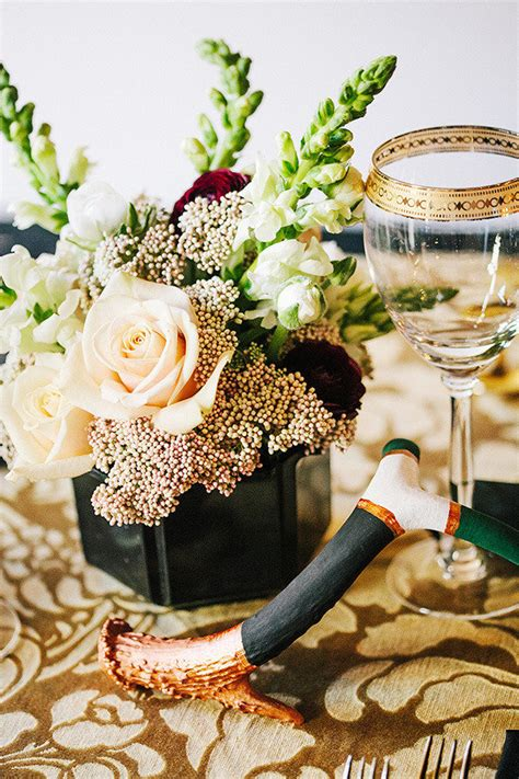 black white and gold centerpieces for wedding 29 luxurious black and gold wedding ideas