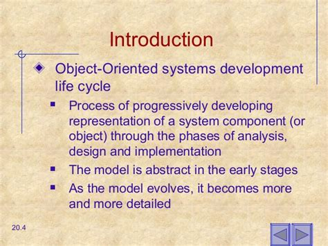 chapter object oriented analysis  design