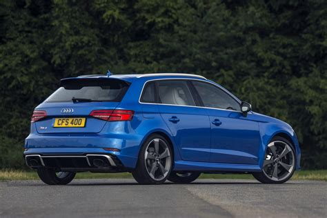 new 400ps audi rs3 arrives in the uk priced from 163 44 300 otr