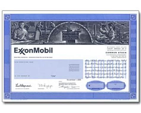 real share  exxon mobil stock   minutes stock