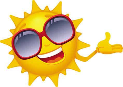 Cartoon Sun Smiley Face Vector Design 01 Free Download