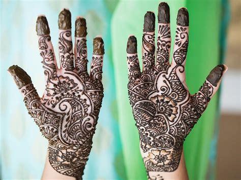 simple  attractive mehndi designs  hands