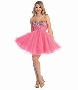 trends-short-pink-prom-dresses-on-evening-dresses-design ...
