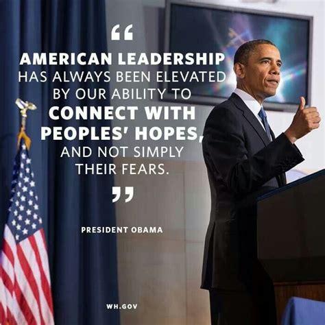 obama leadership quotes quotesgram