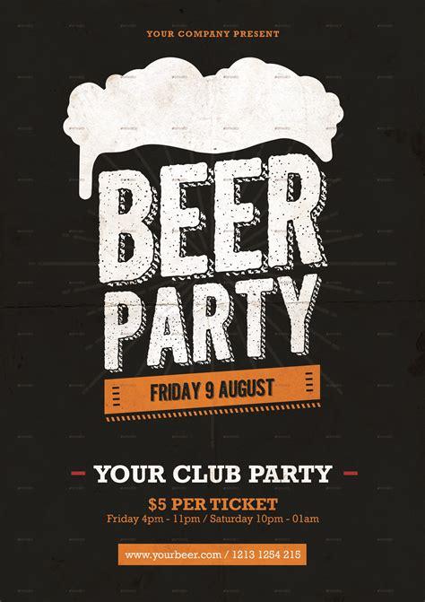 beer party flyer  tokosatsu graphicriver