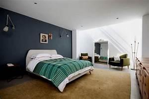 Wandfarbe Grau Schlafzimmer : atemberaubend blaue wandfarbe schlafzimmer blau grau kombination beige gruen 132653 hause deko ~ Buech-reservation.com Haus und Dekorationen