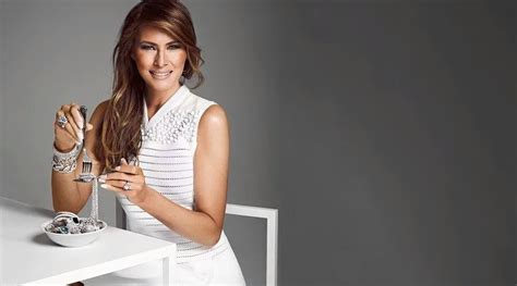 What Does Melania Trump Eat ? First Lady Doesn't Diet, Enjoys Smoothies For Breakfast - YouTube