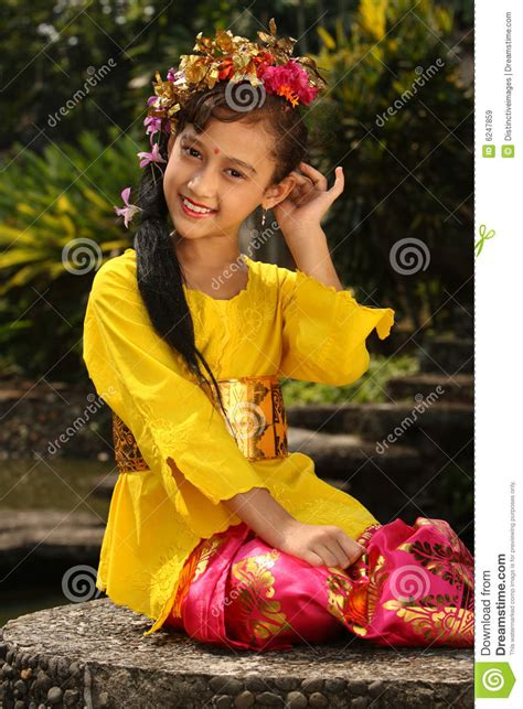 bali girl royalty  stock images image