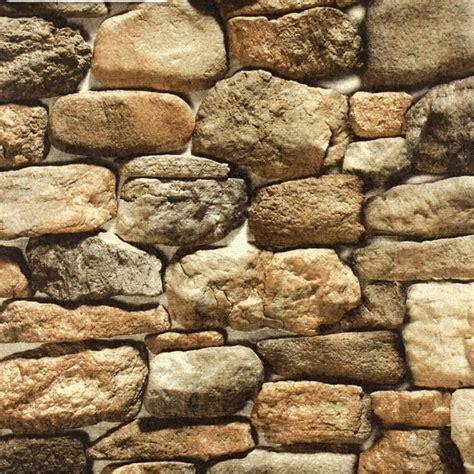 beibehang stone wallpaper simulation retro faux rock